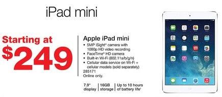 Staples iPad Mini Sale