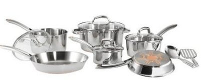 T-falUltimate Stainless Steel Cookware Set 12 pc.