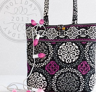 Free Vera Bradley Tote with  100 Purchase cd9b4abb097f5