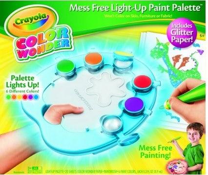 Crayola Color Wonder Light-Up Paint Palette