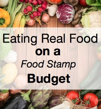 Eating Real Food on a Food Stamp Budget