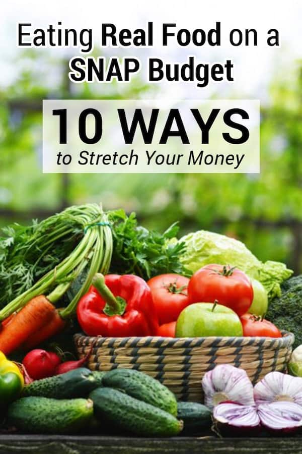 Learn how to make your SNAP/food stamps last all month with these tips. Eat good food with easy recipes and stretch your benefits to last longer.  via @AndreaDeckard