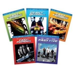 Fast & Furious 1-5 Bundle