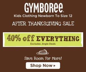 Gymboree Cyber Monday Deals