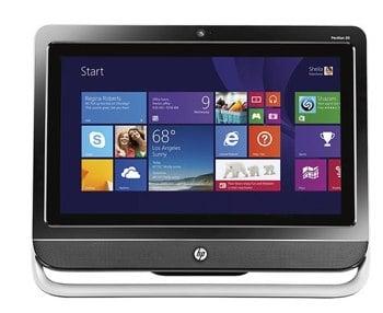 HP Pavilion TouchSmart 20_ TouchScreen AllInOne Computer 4GB Memory 500GB Hard Drive 20-f394 - Best Buy