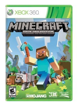 Minecraft for Xbox 360 Sale