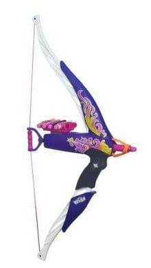 Nerf Rebelle Heartbreaker Bow (Flame Design) _ Toy Activity Roleplay Sets _ Toys & Games