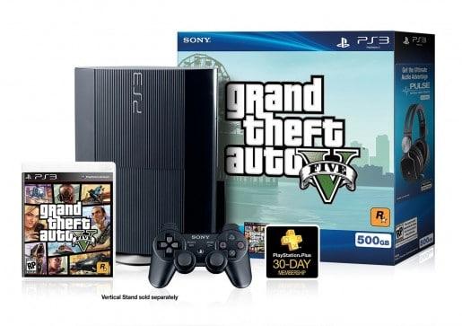 PS3 Grand Thef Auto Bundle
