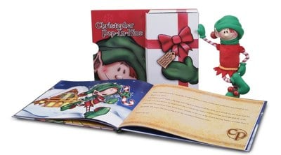 _ Pop-In-Kins Elf Fun with Christopher Book Set