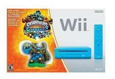 Skylanders Giants Blue Nintendo Wii Console Bundle
