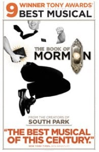 The Book of Mormon Lottery Tickets