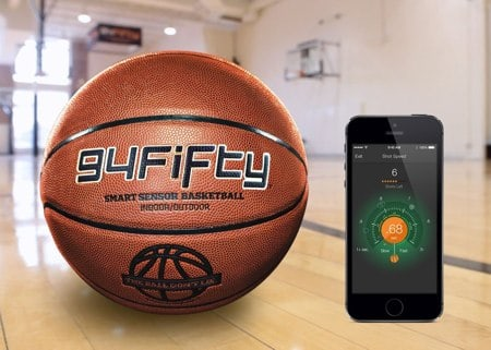 Smart Sensor Basketball