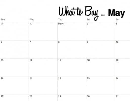 What to Buy in May
