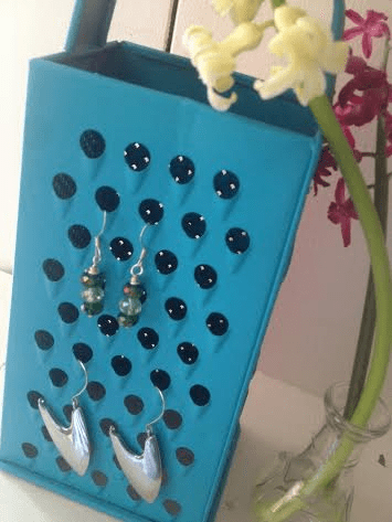 Upcycled Jewelry Holder