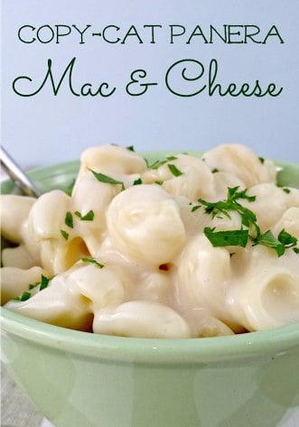 Copycat Panera Mac and Cheese Recipe