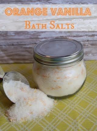Orange Vanilla Bath Salts