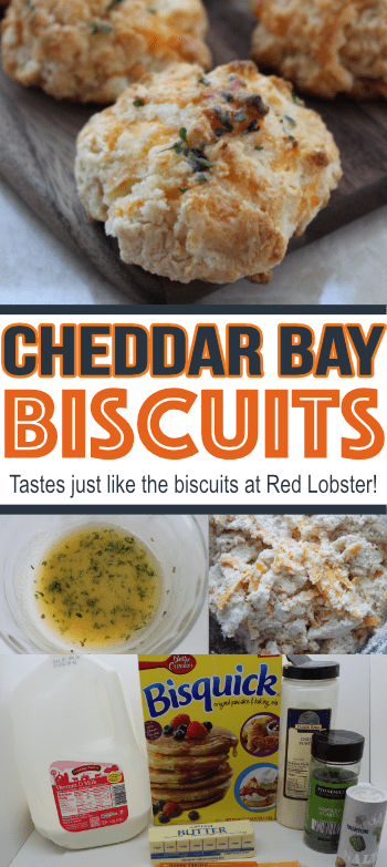 These cheddar bay biscuits taste just like what you will find at Red Lobster! This is one copycat recipe that you want to SAVE!