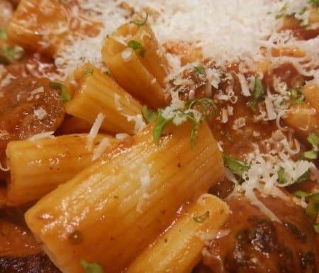Panera Rigatoni San Marzano Copycat Recipe