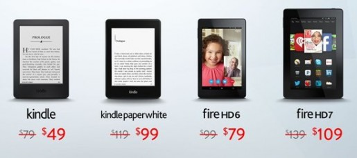 Amazon Black Friday Kindle Deals