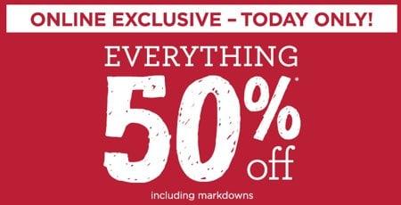 Gymboree 50 Percent Sale