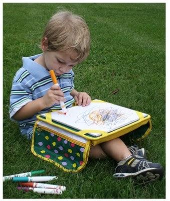 Kids on the Go Portable Art Lap Desk