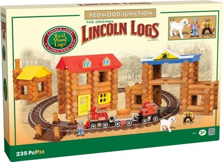 Lincoln Logs Redwood Junction Playset
