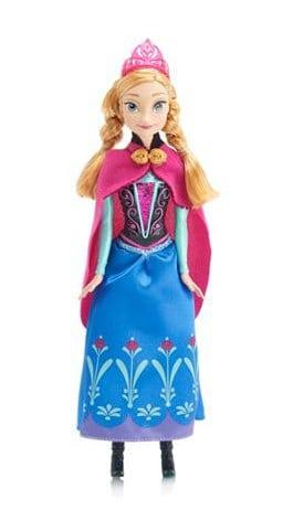 Mattel Disney Frozen Sparkle Anna Doll