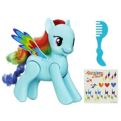 My Little Pony Flip and Whirl Rainbow Dash Pony