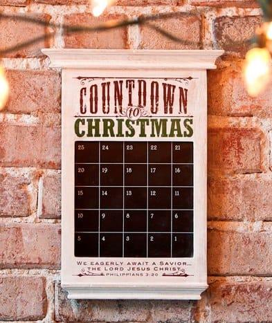 Redeemed Countdown to Christmas Advent Calendar