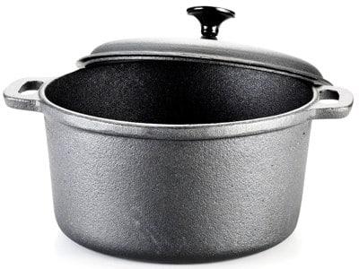 T-Fal 6-Quart Pre-Seasoned Cast Iron Dutch Oven Cookware