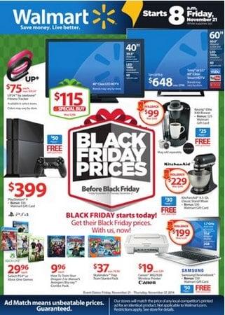 Walmart Pre-Black Friday Prices LIVE
