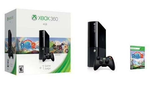 Xbox 360 4GB Holiday Value Console Bundle