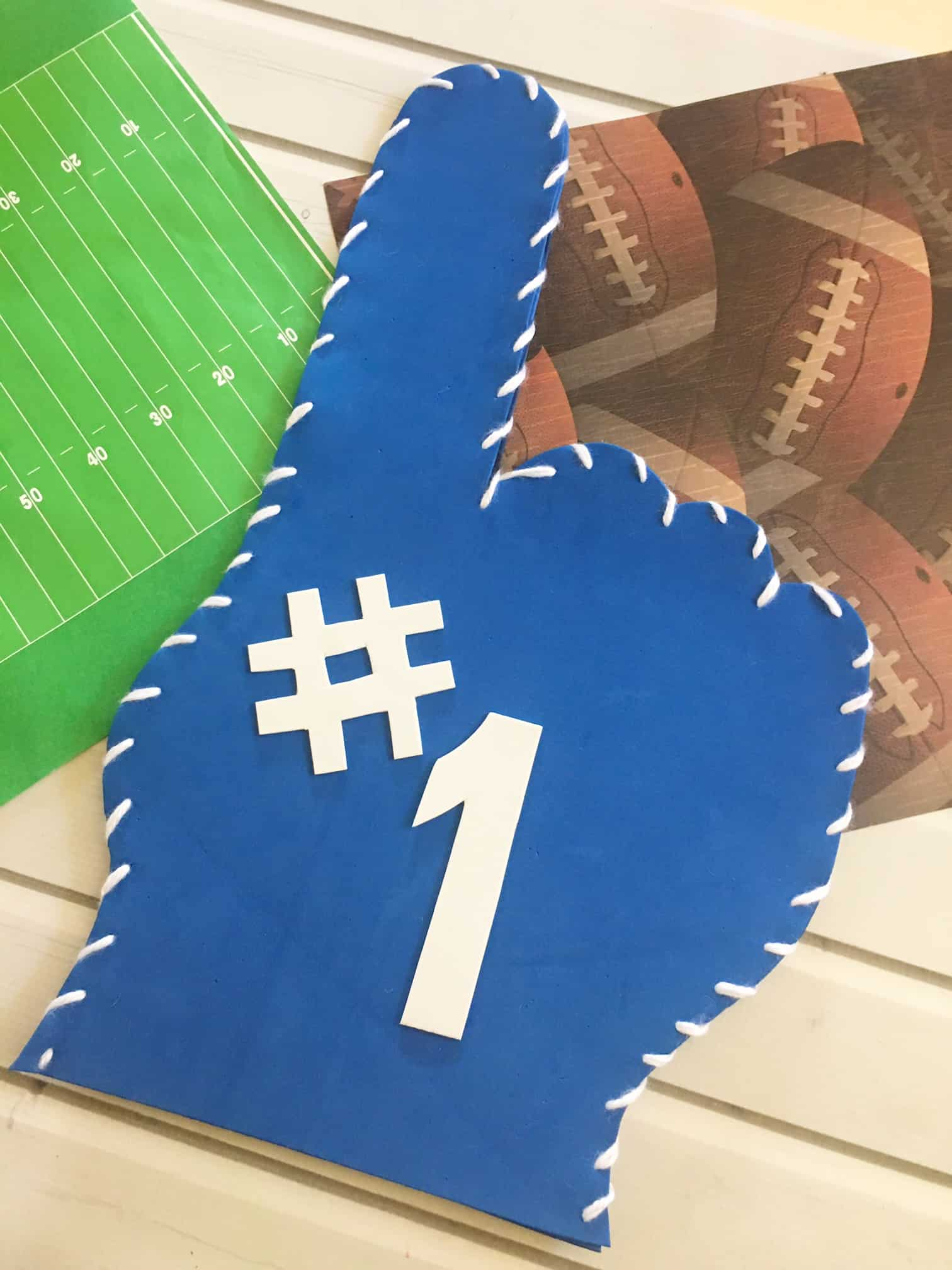 DIY Foam Finger and Template