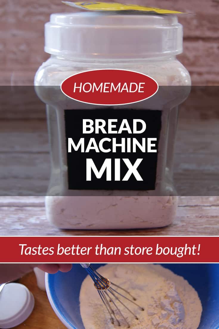 This bread machine bread recipe is a great recipe to use up your pantry staples. Keep a few mixes on hand so you can make fresh homemade bread at anytime!  via @AndreaDeckard