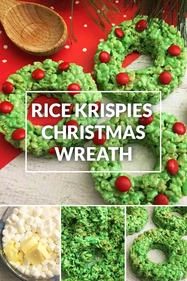 Rice Crispy Treat Christmas.Rice Krispies Wreaths