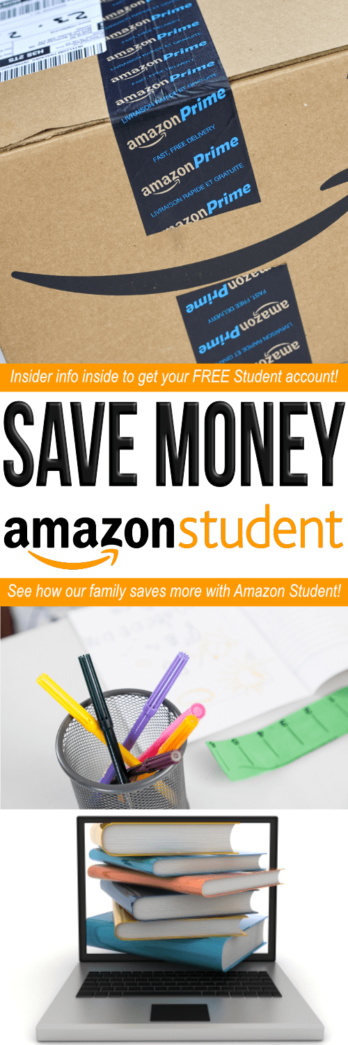 Amazon Prime Student is a great way to save money in college! Learn how to get Amazon Prime free for college students, the difference between Prime Student vs Prime, and over 10 Amazon Student Prime membership perks to save BIG!