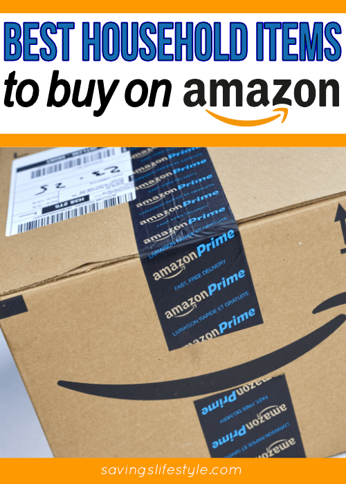 Epic list of the best household items to buy on Amazon and save!