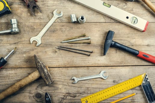 Sell old tools to earn money for your emergency savings fund.