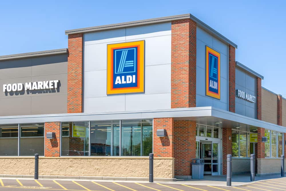 Epic list of what to buy at Aldi on a budget! Take advantage of the Aldi special buys each week including grocery staples at the popular low Aldi prices on milk, meat, butter, cheese, eggs, fruit, chips, and even organic products! You can save so much shopping at Aldi grocery!