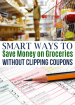 Grocery shopping is something everyone has to do so why not save as much money as possible! Learn how to save on groceries without clipping coupons by using these tips!