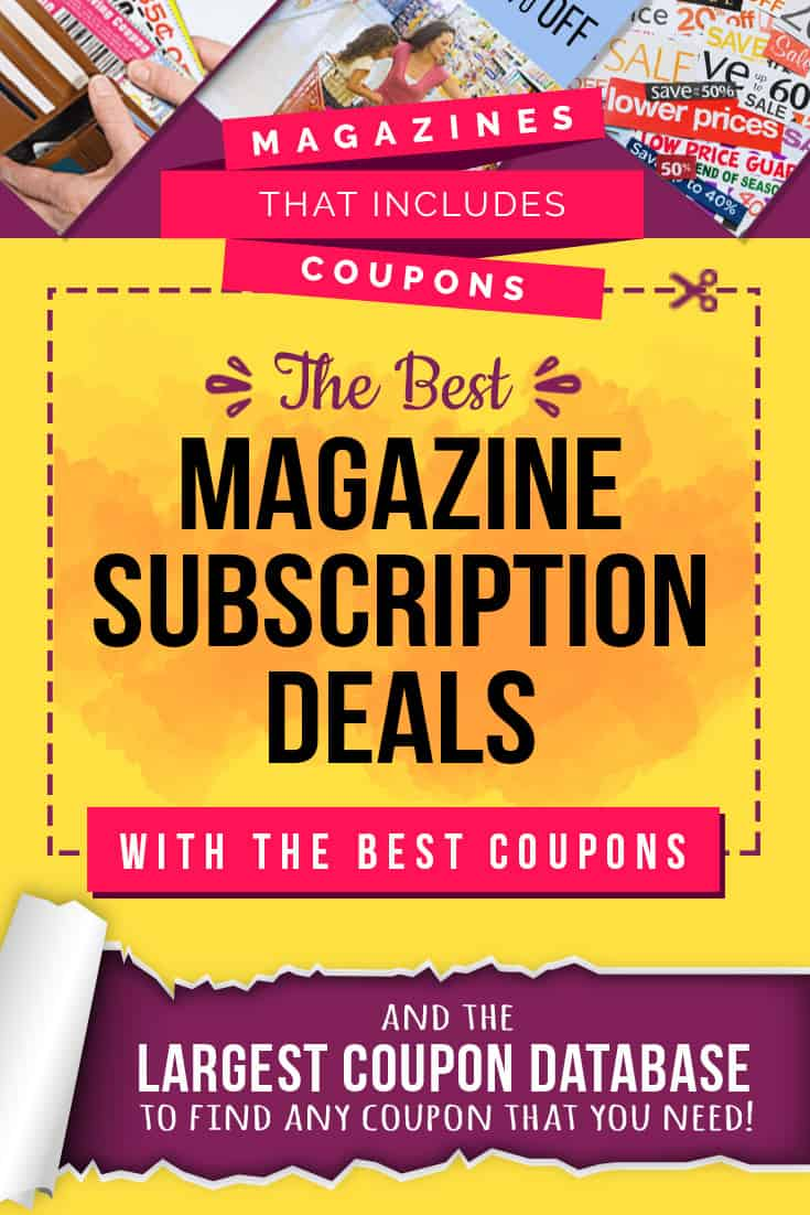 best deals magazine code