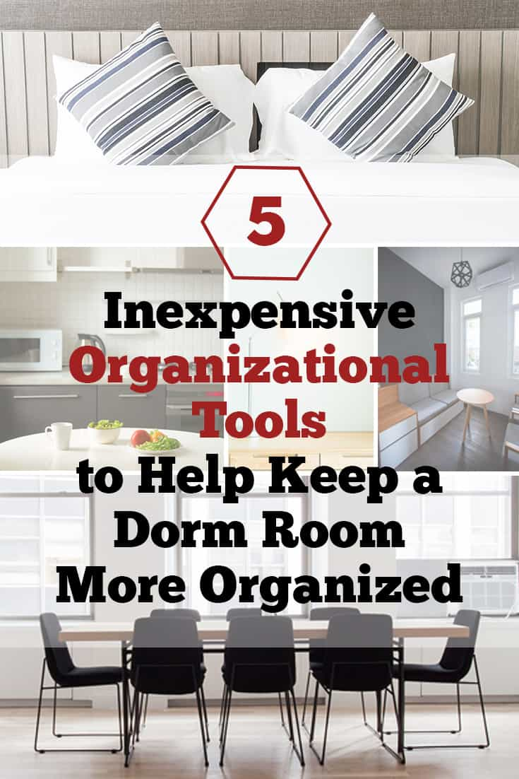 Ways to Keep a Dorm Room Organized