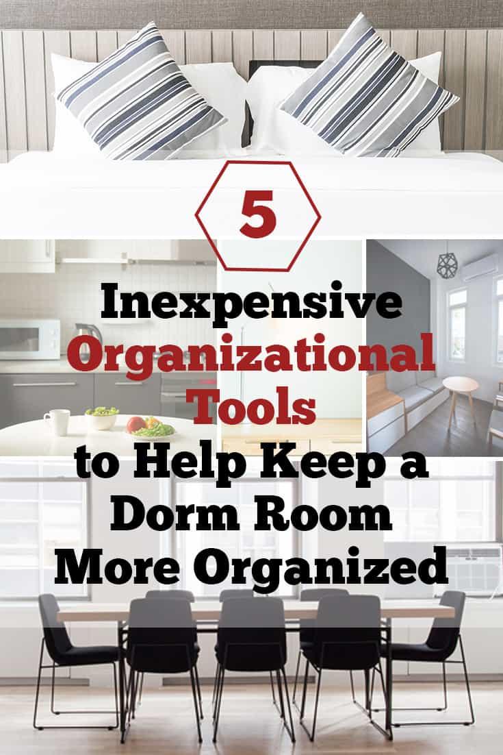Ways to Keep a Dorm Room Organized via @AndreaDeckard