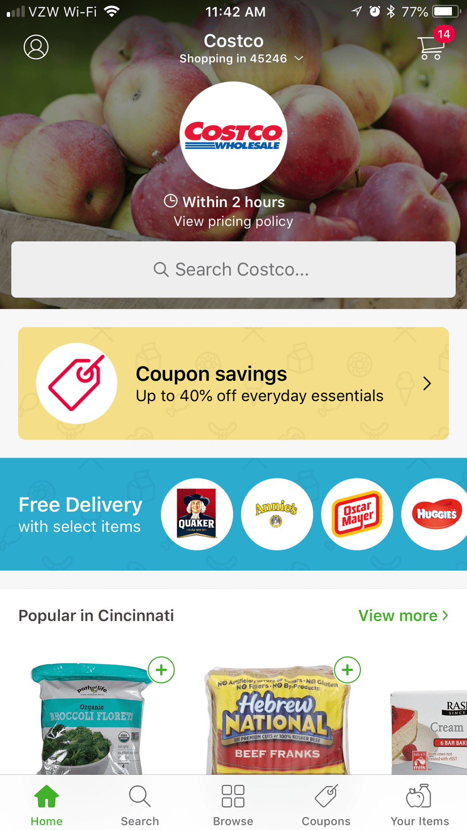 Instacart Shopper App: Save Money with Grocery Delivery Service