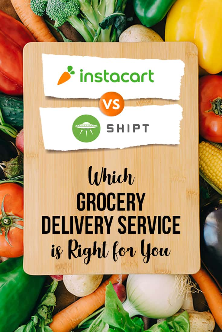 Shipt and Instacart shopper tips for both grocery delivery services, including prices, membership fees, locations, delivery options and more! These hacks will come in handy as you compare both services!
