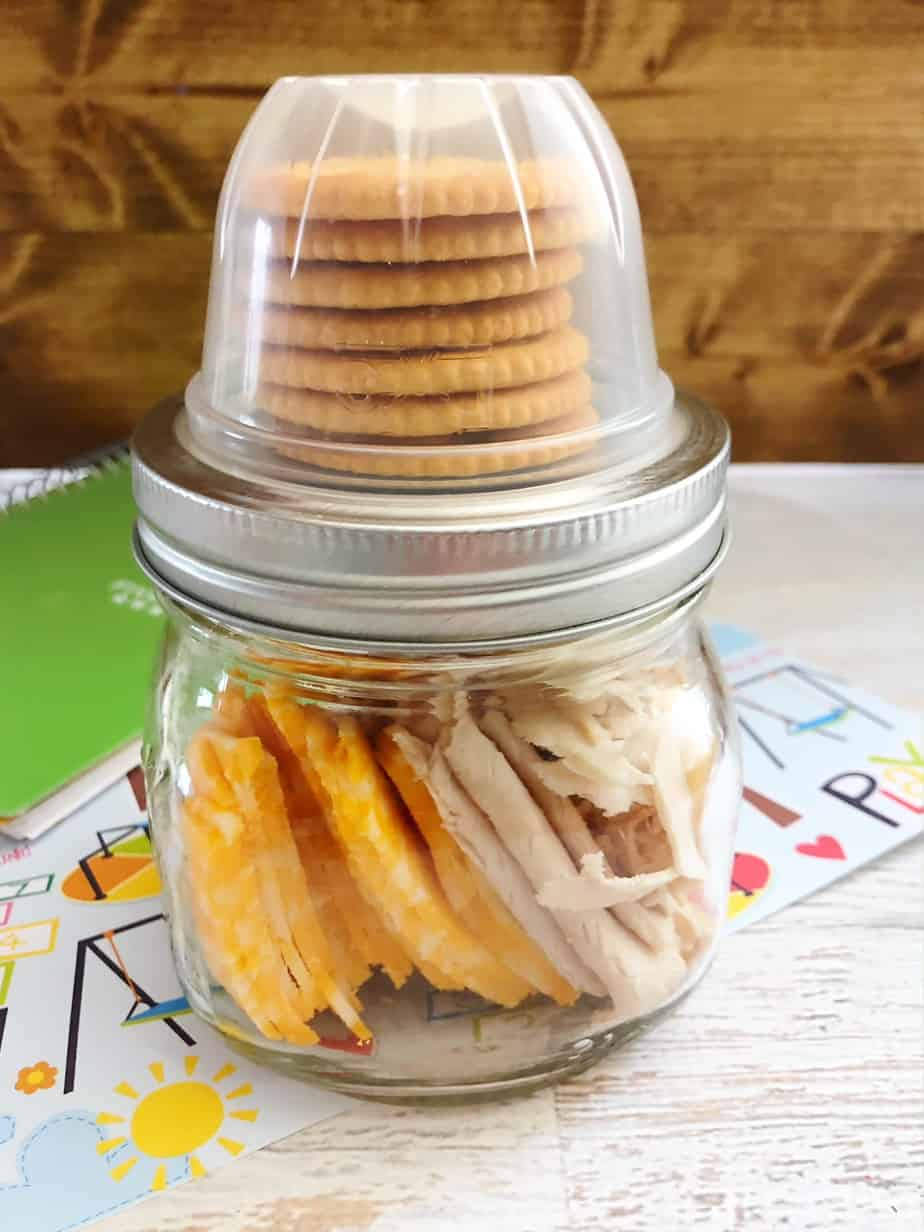 Diy Lunchables Make Ahead In Mason Jar