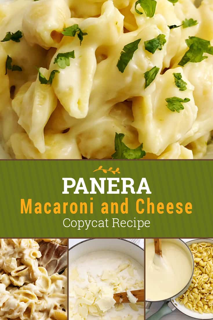 Copycat Panera Mac and Cheese Recipe with a short list of ingredients to make this restaurant copycat at home for a fraction of the price! via @AndreaDeckard