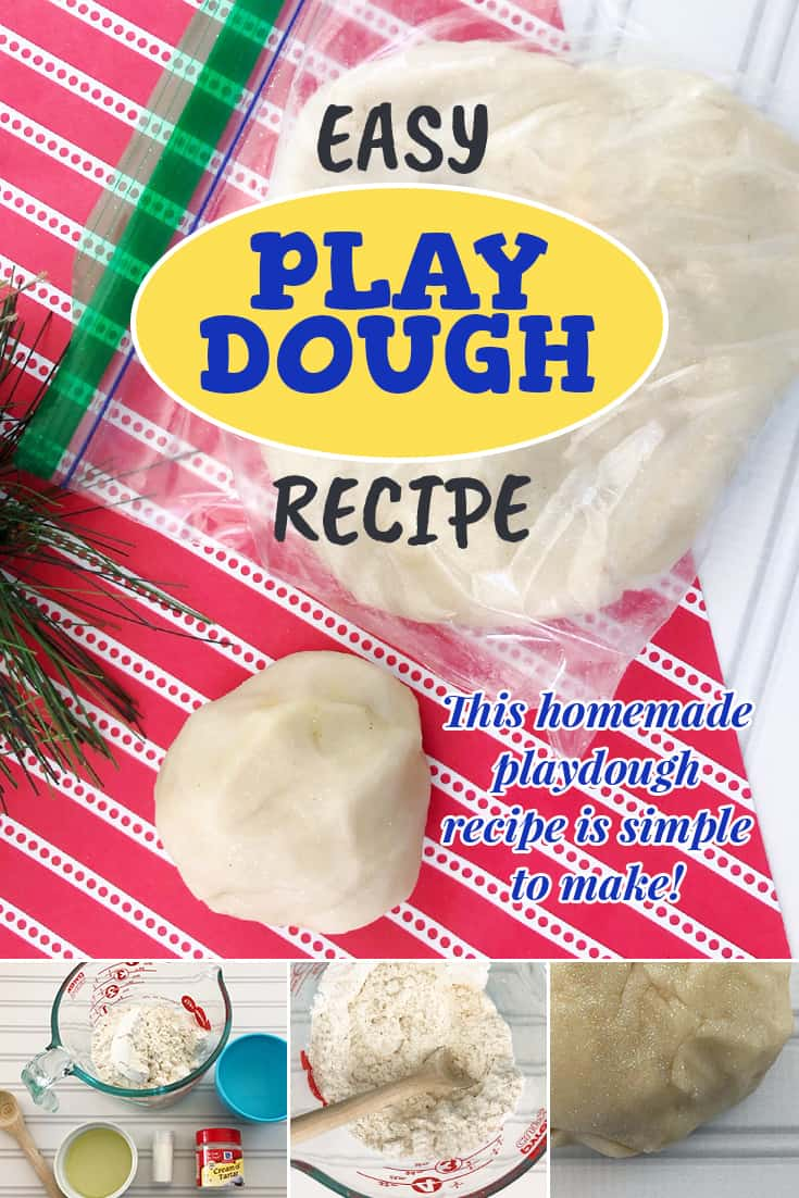 This easy homemade playdough recipe is one that you will keep coming back to time and time again! Great to make in advance and use as a craft for classroom parties, or just to make at home to keep your kids' using their imagination to make fun creations! via @AndreaDeckard