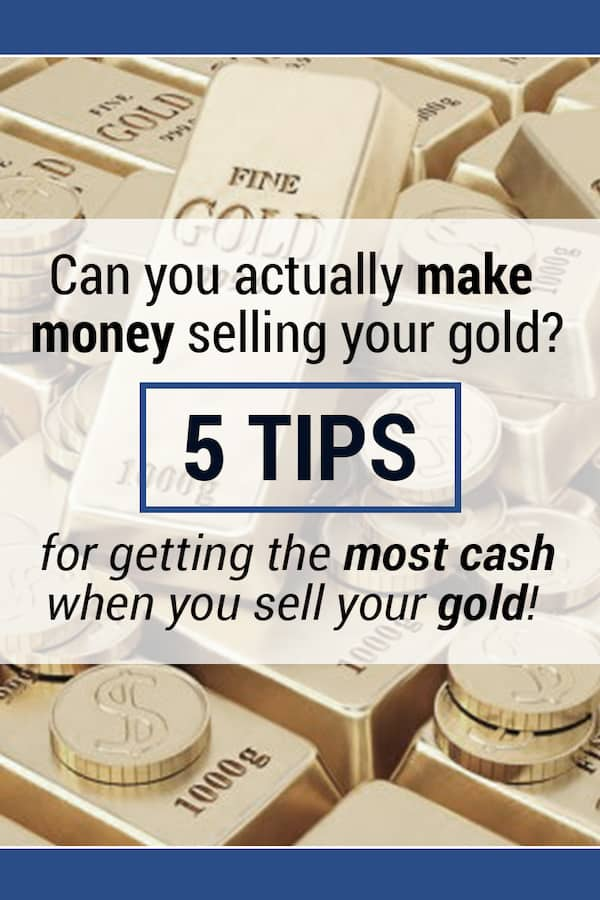 Selling your cash for gold can be done near you or through a few legitimate sites. Get the rundown for what to look for with someone local or an online company to sell your gold.